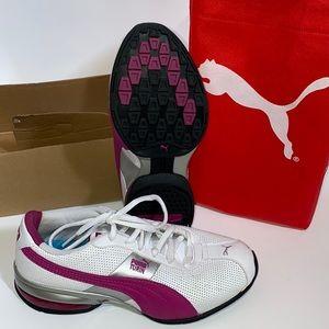 Puma Drift Cat 4 Jr Leather shoes Size 5.5